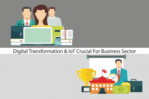 Digital Transformation & IoT Crucial For Business Sector