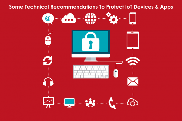 Some Technical Recommendations To Protect IoT Devices & Apps